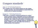 compare standards1