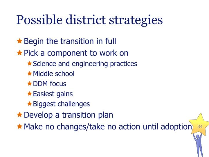 Possible district strategies