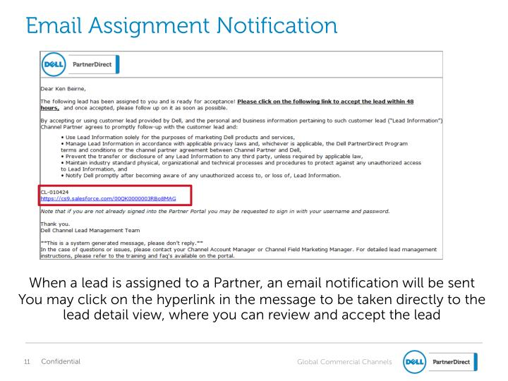 Email Assignment Notification