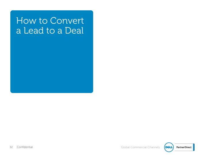 How to Convert a Lead to a Deal