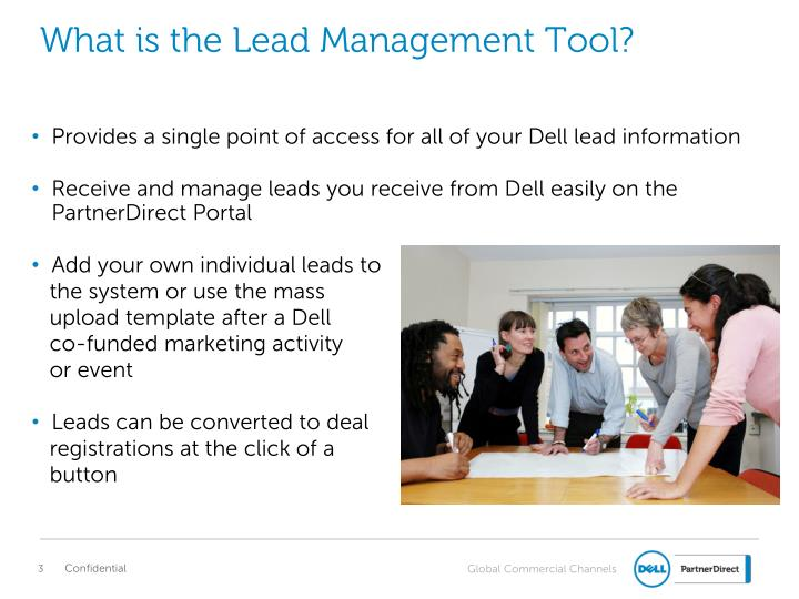 What is the lead management tool
