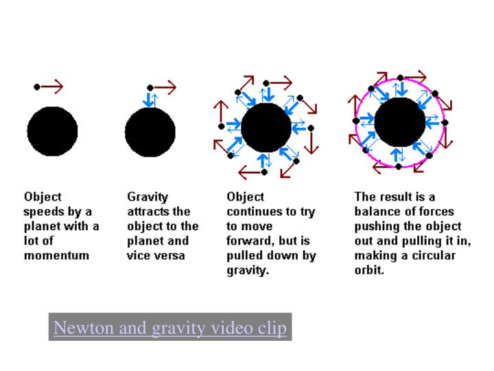 Newton and gravity video clip