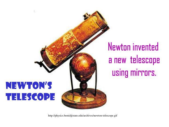 Newton invented