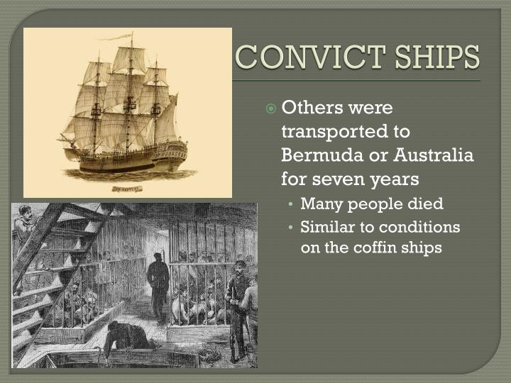 CONVICT SHIPS