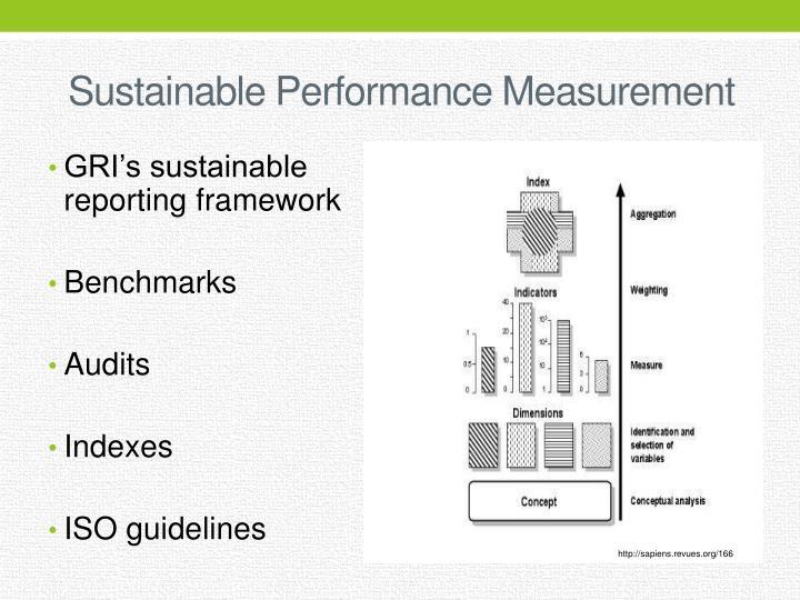 Sustainable Performance Measurement