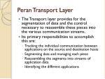 peran transport layer