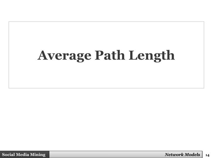 Average Path Length