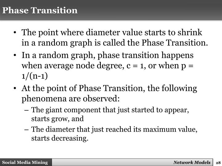 Phase Transition