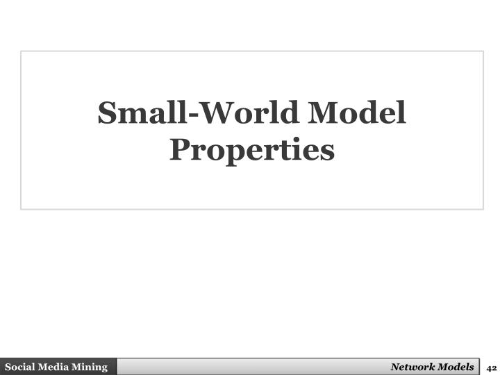 Small-World Model