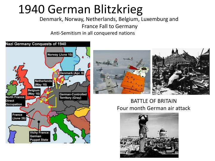to what extent were the blitzkrieg 2008-03-26  why was the blitzkrieg so successful,  key elements to the blitzkrieg's success were shock and surprise, fluidity of the battlefield environment, initiative and flexibility among junior and senior officers on.