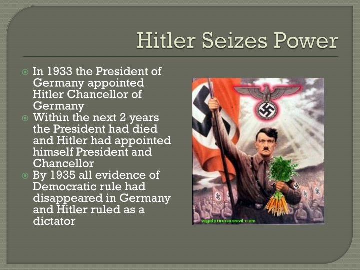 Hitler Seizes Power