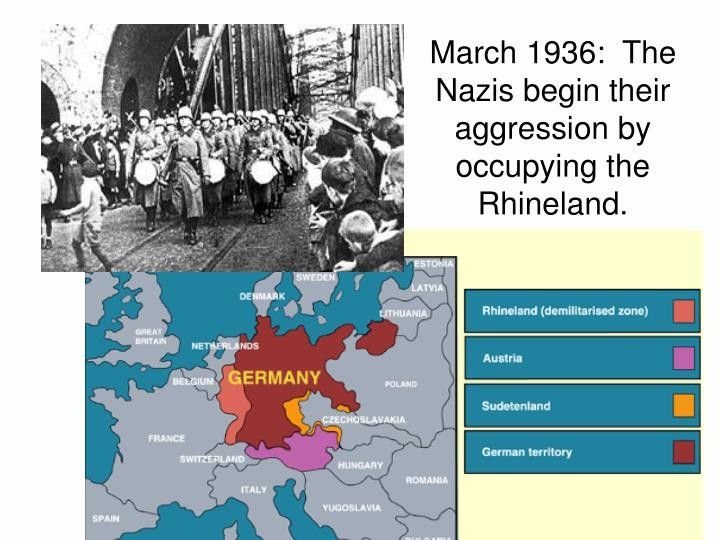 March 1936:  The
