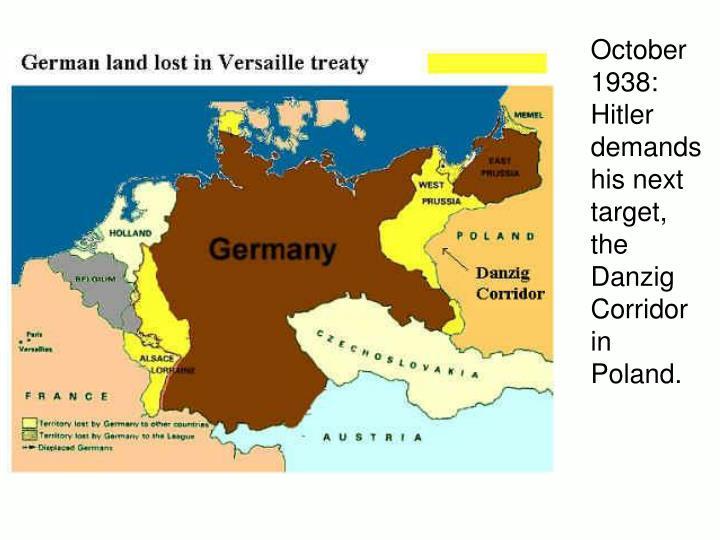 October 1938: