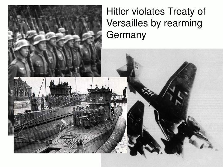 Hitler violates