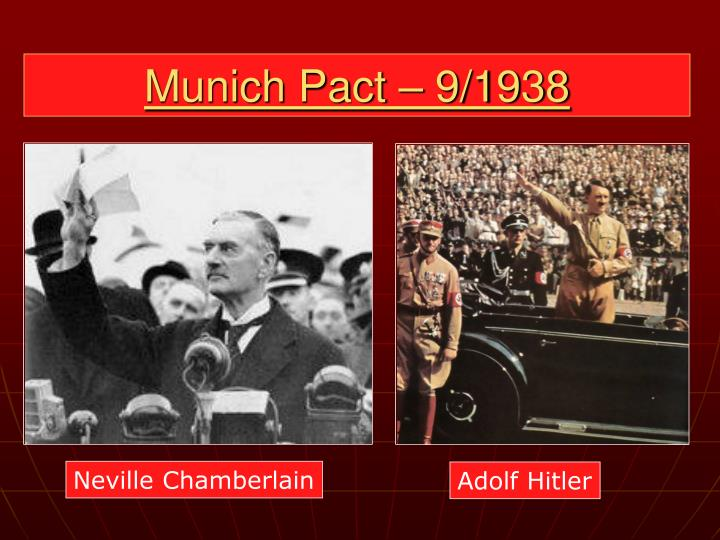 Munich Pact – 9/1938