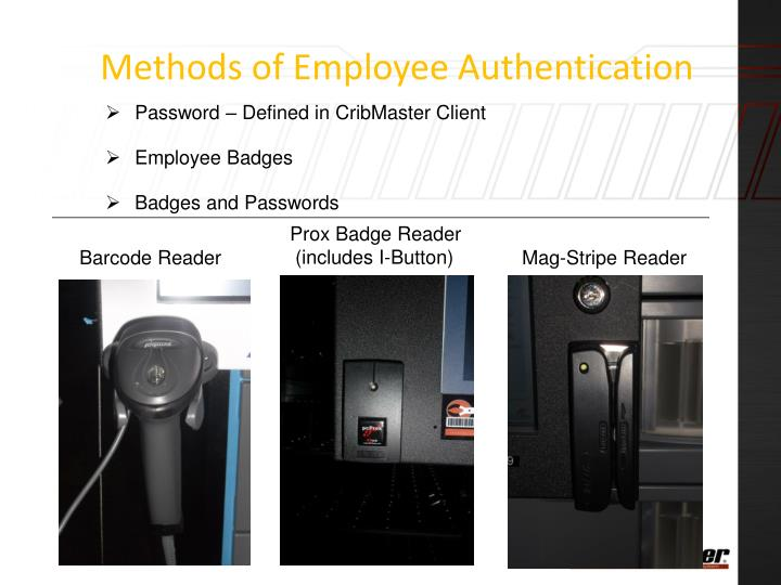 Methods of Employee Authentication