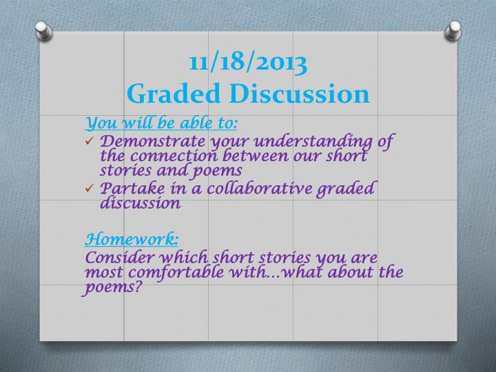 11 18 2013 graded discussion