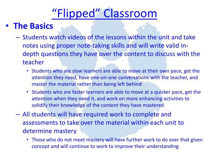 """Flipped"" Classroom"