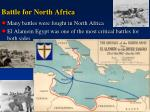 battle for north africa