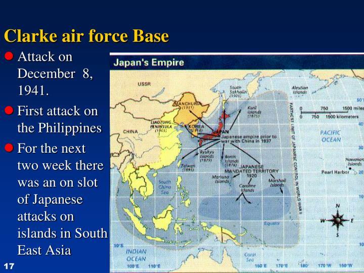 Clarke air force Base