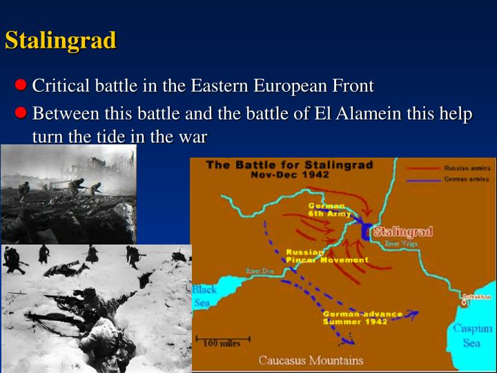 Critical battle in the Eastern European Front