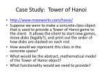 case study tower of hanoi