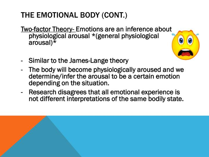 The Emotional Body (Cont.)
