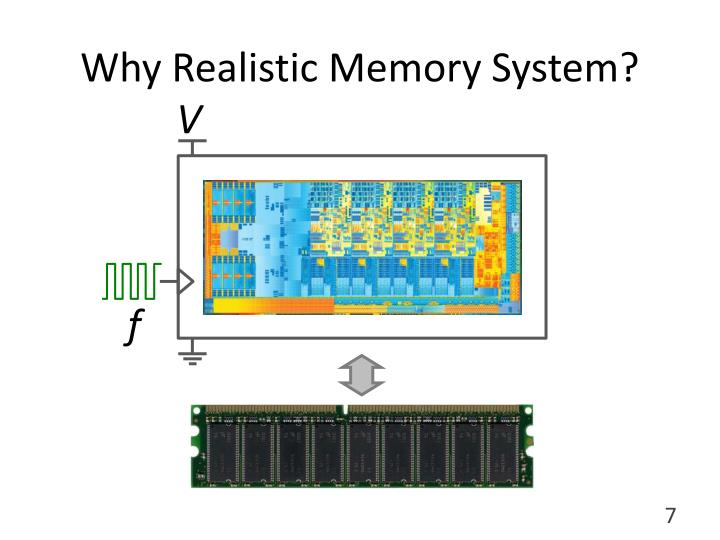 Why Realistic Memory System?