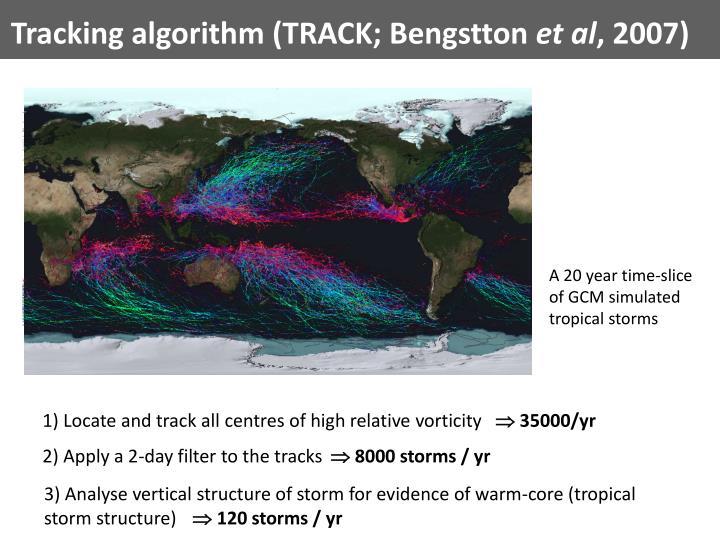Tracking algorithm (TRACK;