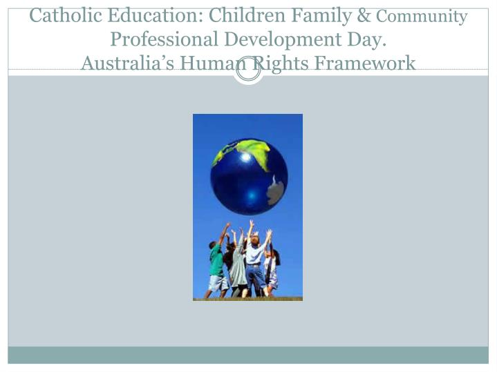 Catholic Education: Children Family &