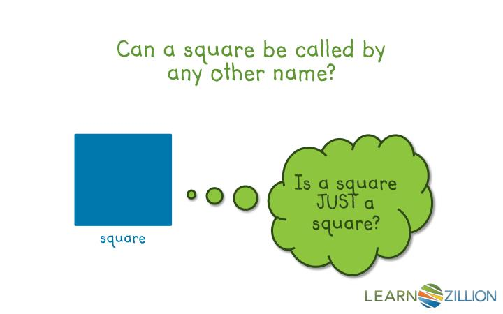 Can a square be called by any other name?