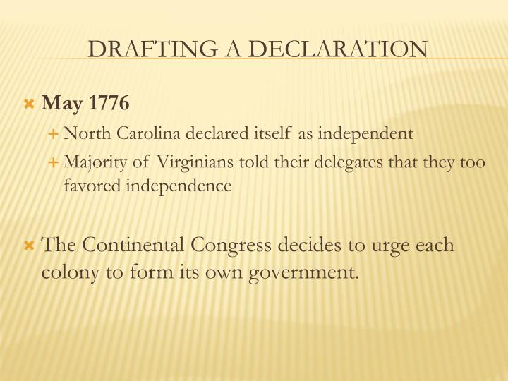 May 1776