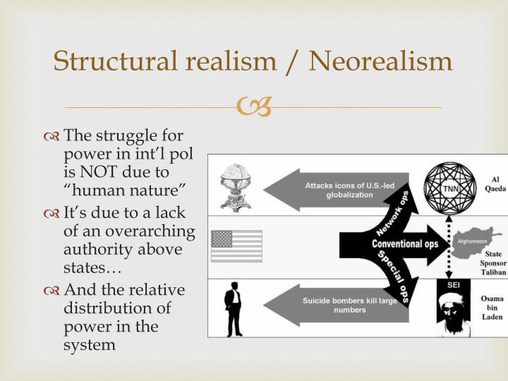 Structural realism / Neorealism
