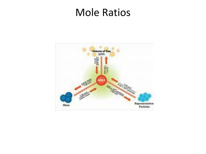 Mole Ratios