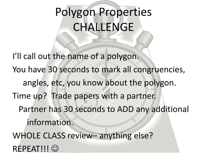 Polygon Properties