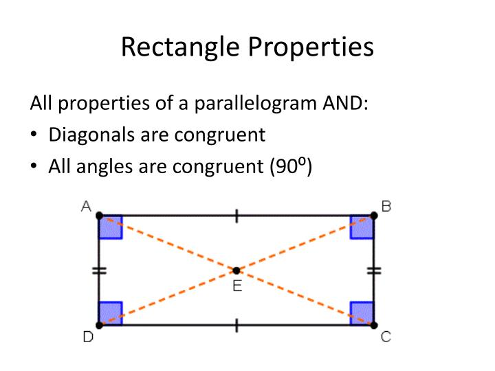 Rectangle Properties