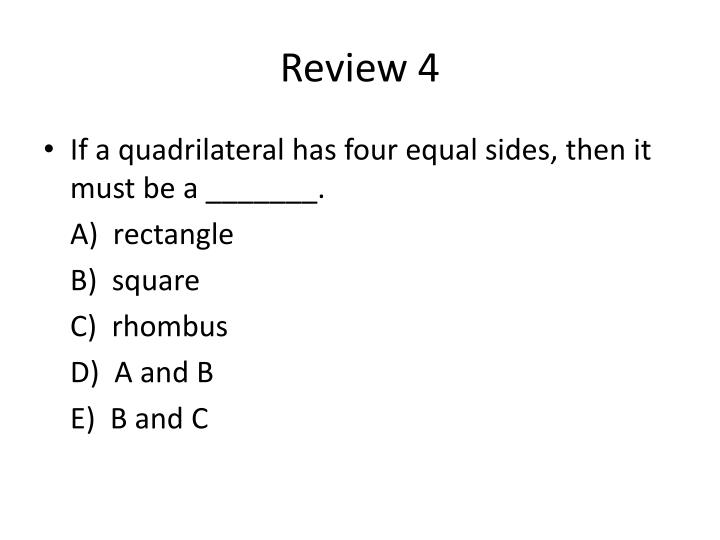 Review 4