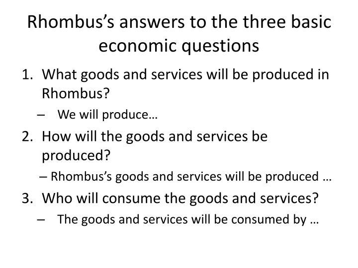 Rhombus's