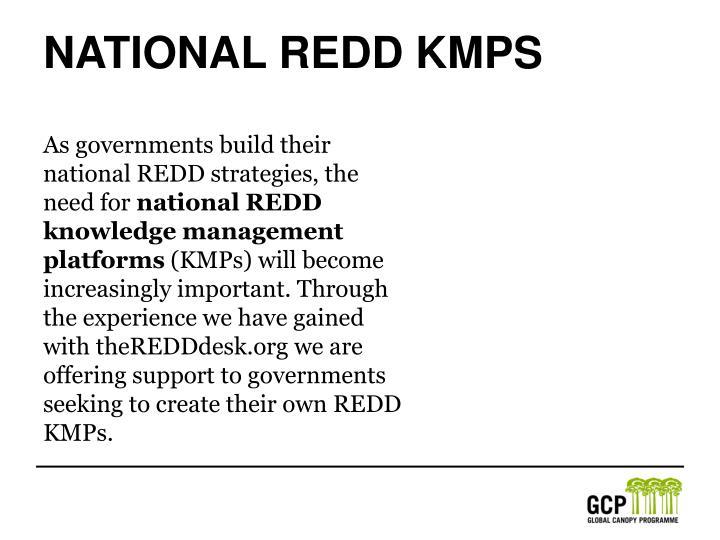 National REDD KMPS