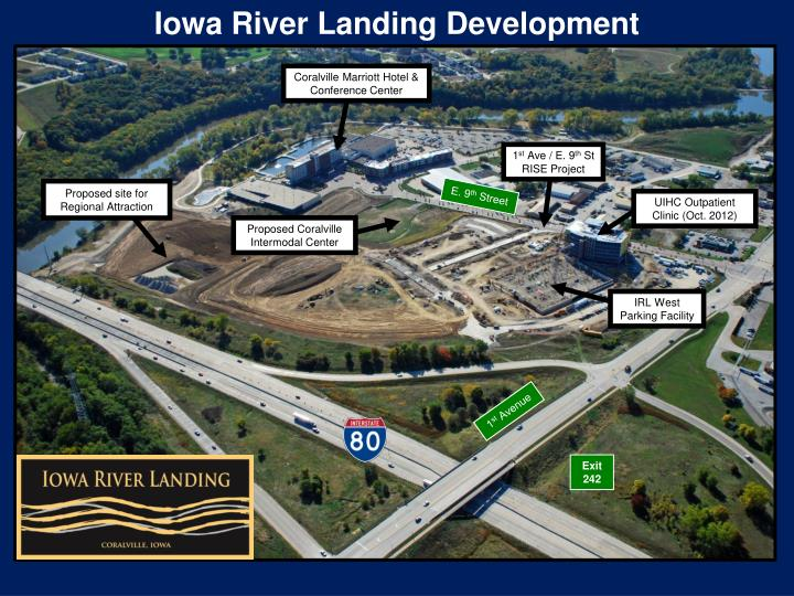 Iowa River Landing Development
