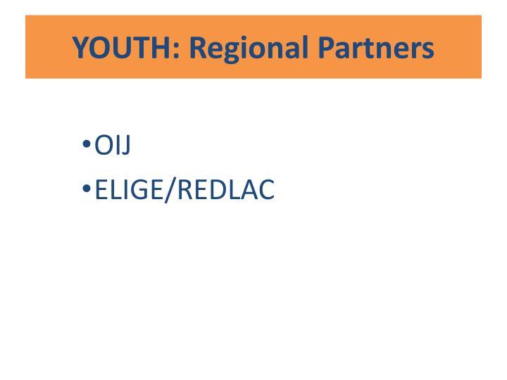 YOUTH: Regional