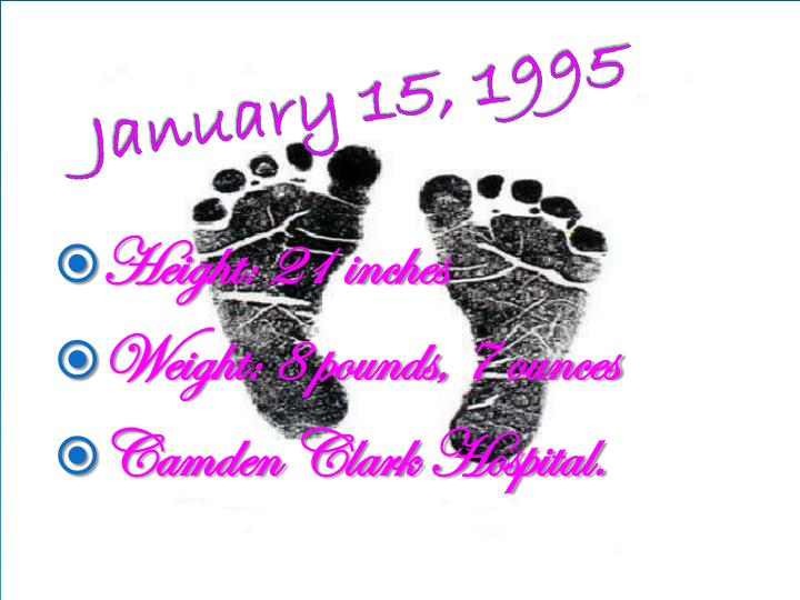 January 15, 1995