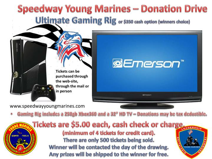 Speedway Young Marines – Donation Drive