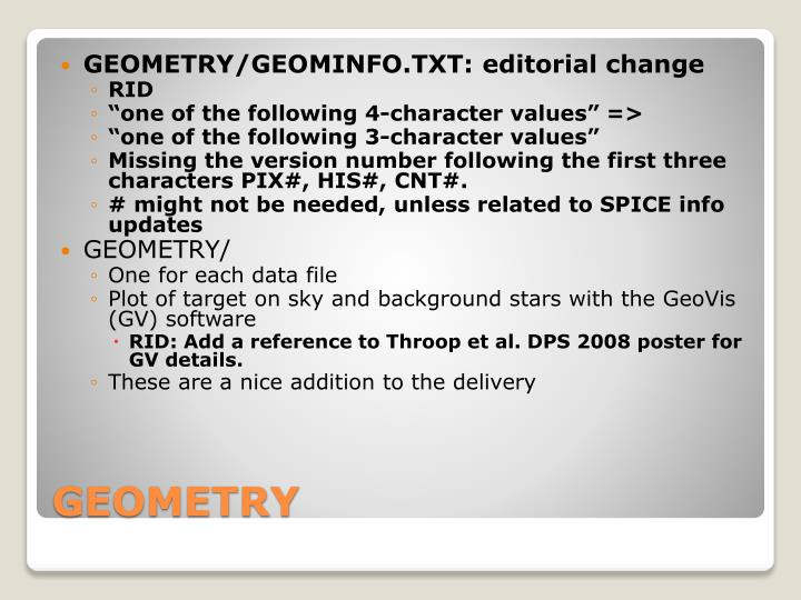 GEOMETRY/GEOMINFO.TXT: editorial change