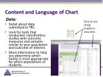 content and language of chart3