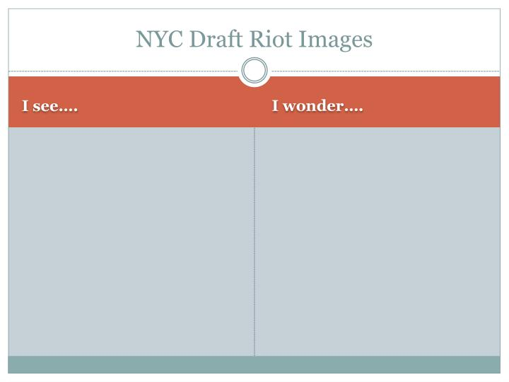 Nyc draft riot images