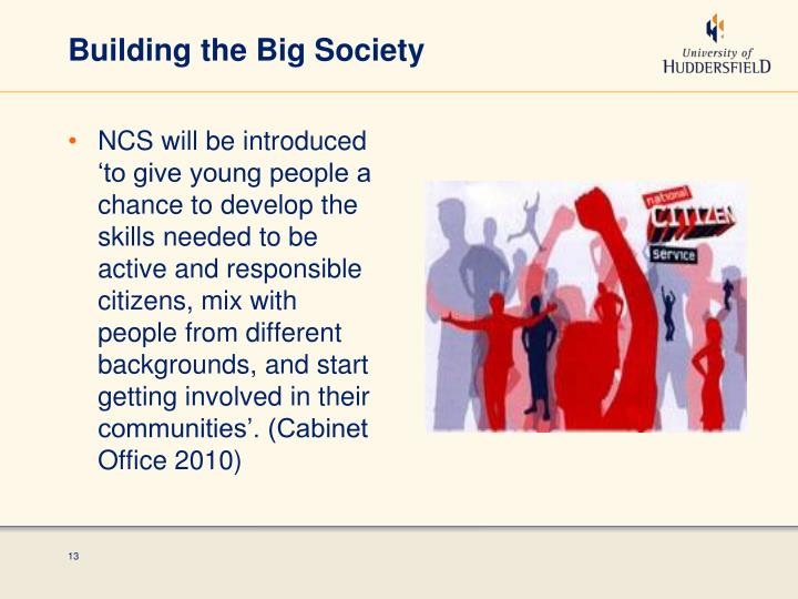 Building the Big Society
