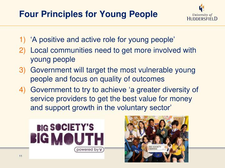 Four Principles for Young People