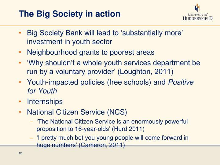 The Big Society in action
