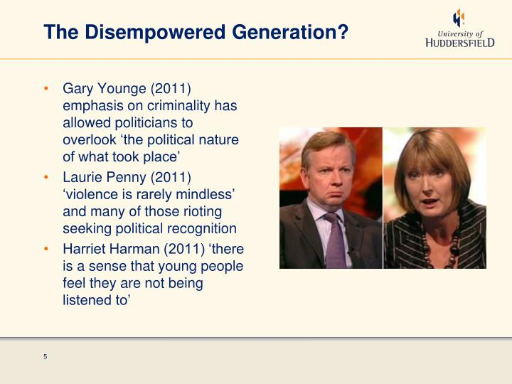 The Disempowered Generation?